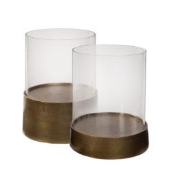 Celano lantern, antique brass