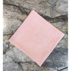 Lin servietta bleik
