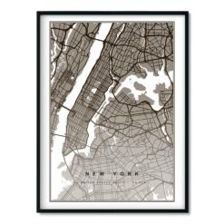 New York Brúnt 50x70