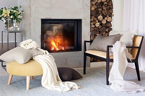 Hannelin Cushion Natural